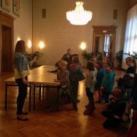 Besuch im Rathaus - Weltfriedenstag