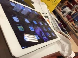 iPads sind da!